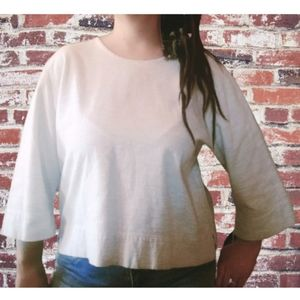 HABITAT CLOTHES TO LIVE IN XL Top 1/4 Sleeve